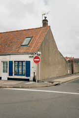 By the sea. Audresselles, France
