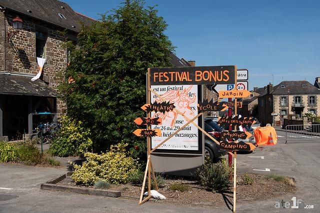 Festival Bonus n°8 : mercredi 25 août