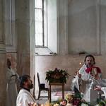 26 августа 2021, Литургия в Страстном соборе Димитровского монастыря (Кашин)   26 August 2021, Liturgy in the Passion Cathedral of the Dimitrovsky Monastery (Kashin)