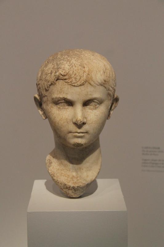 Head of Caius Caesar