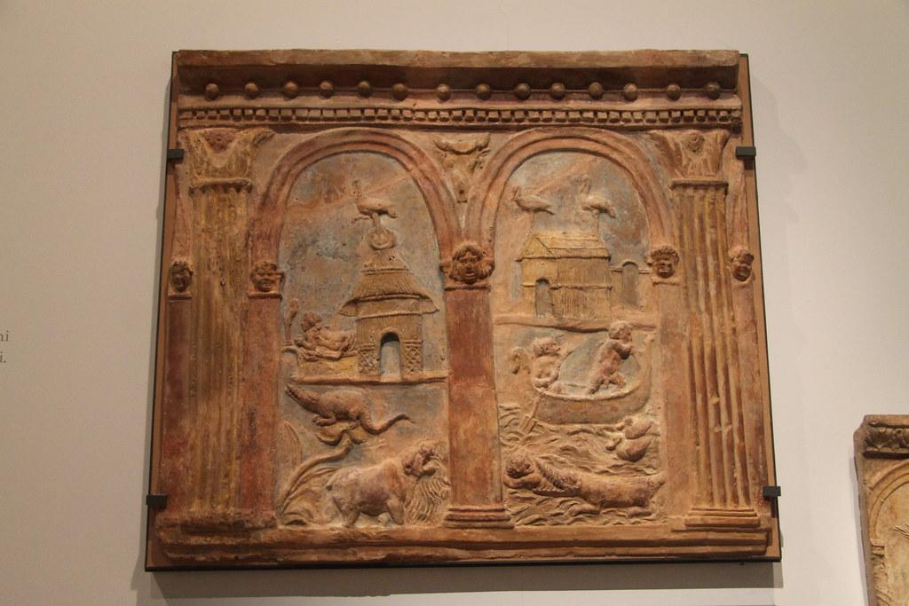Campana Relief with Nilotic Scene