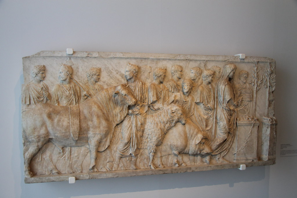 Relief of the Suovetaurilia
