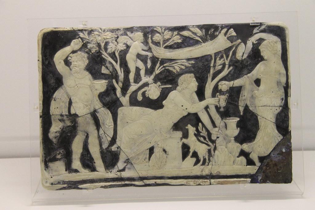 Cameo Plaque of Ariadne
