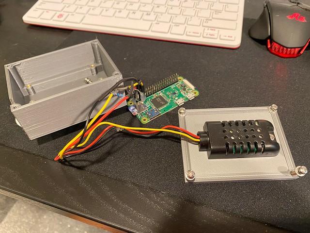 Custom Enclosure for Raspberry Pi Zero W