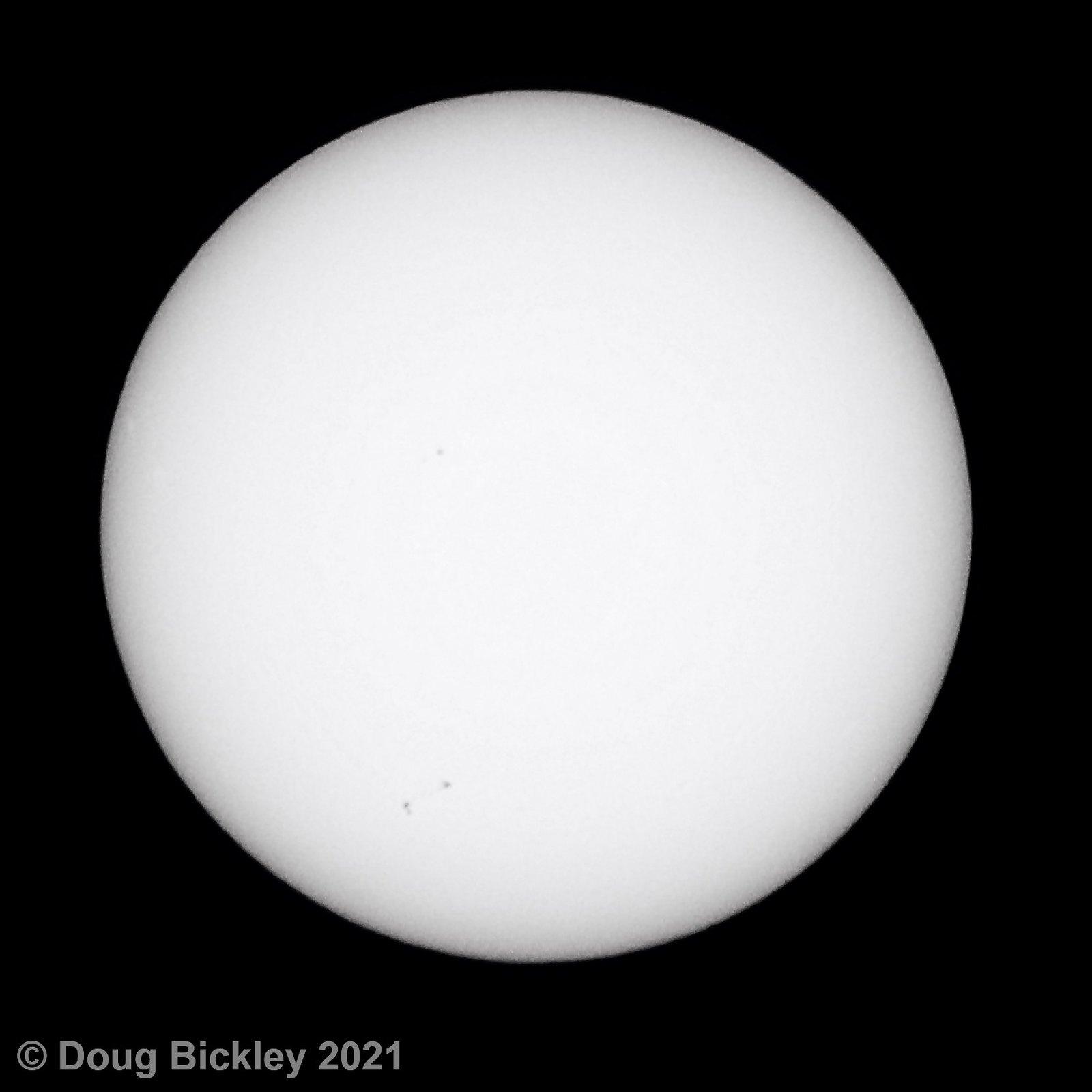 20210826 Sunspots