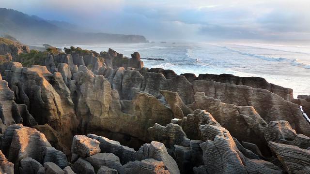 Layered Limestone New Zealand.