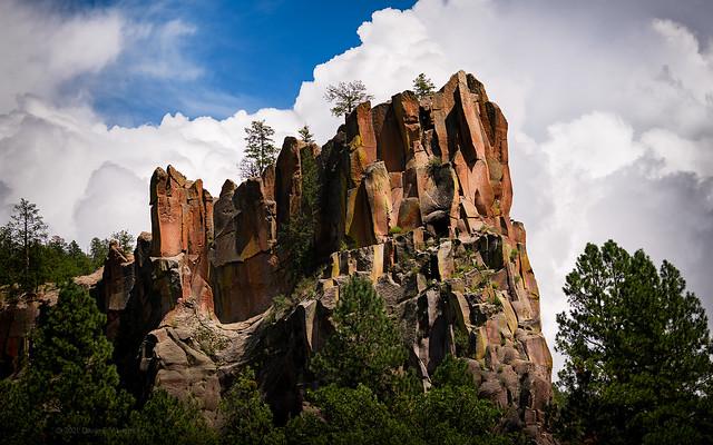 Rock Reaching Toward the Sky
