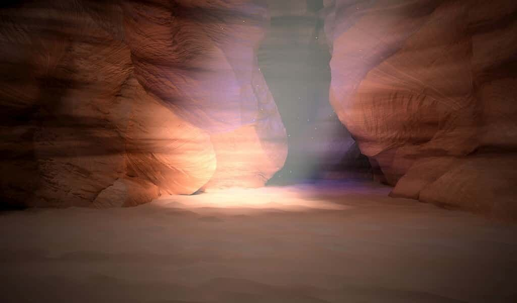 Les grottes martiennes pourraient fournir un bouclier antiradiations
