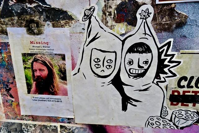 Missing Street Art, San Francisco, CA
