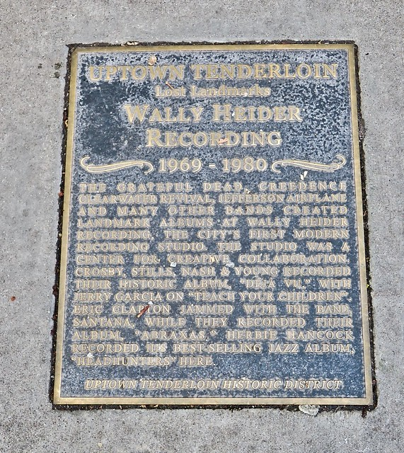 Wally Heider Recording, San Francisco ,CA