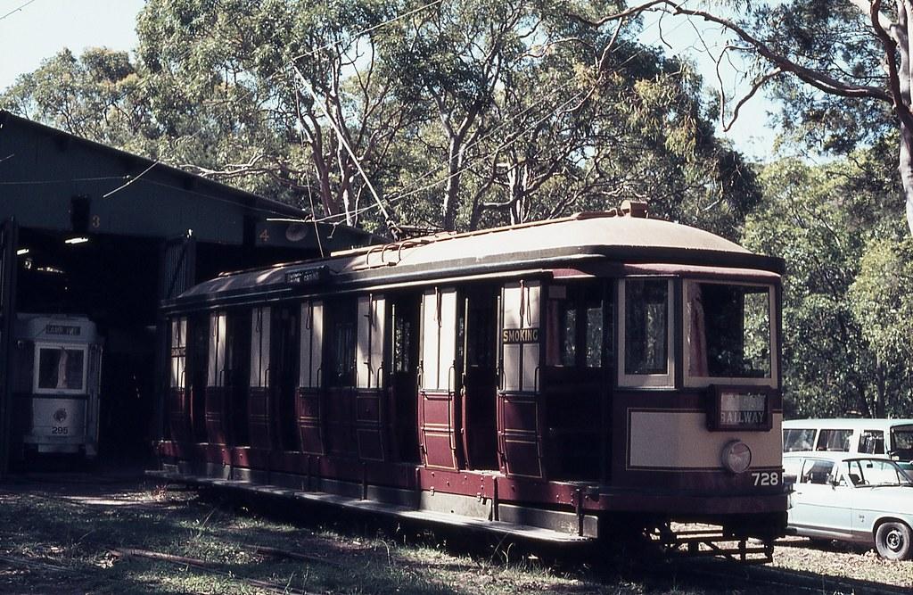 N 728, Sydney Tramway Museum, Loftus, NSW.