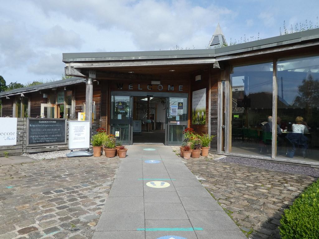 Visitor Centre at Ness Botanic Gardens, Cheshire