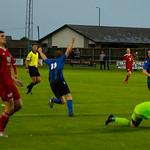 Gavin Elphinstone (11) celebrates his goal
