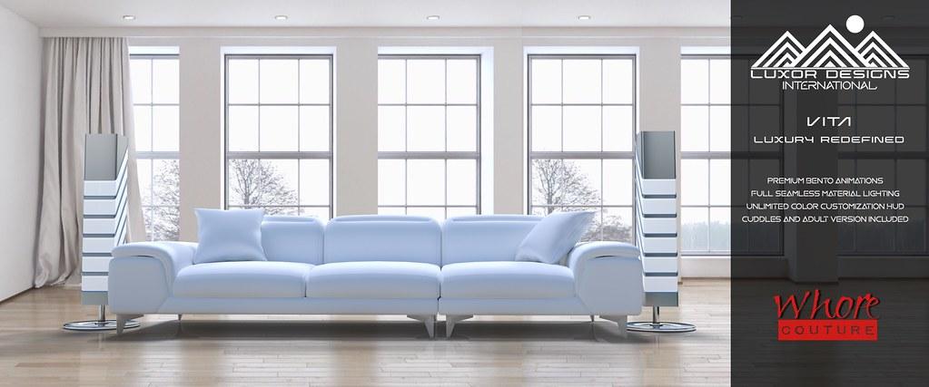 Vita Luxury Designer Living Room Set – By Luxor Designs International