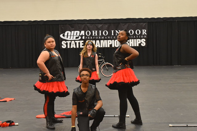2019 Ohio Indoor Performance Association State Championships - Ridgeview STEM Junior High Color Guard