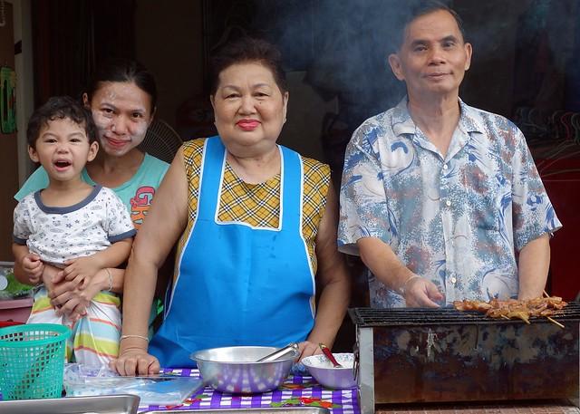 food vendor family