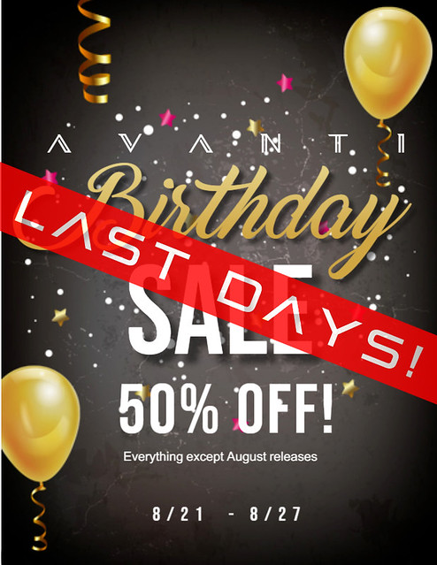 Birthday Sale – FINAL DAYS!