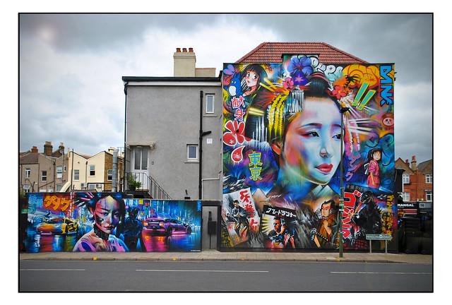LONDON STREET ART by DAN KITCHENER.