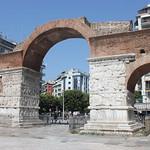 Arc de Galère/Αψίδα του Γαλερίου