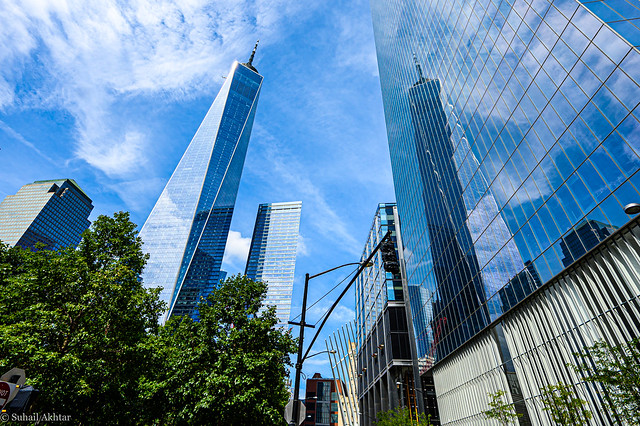 Reflections of a Freedom Tower