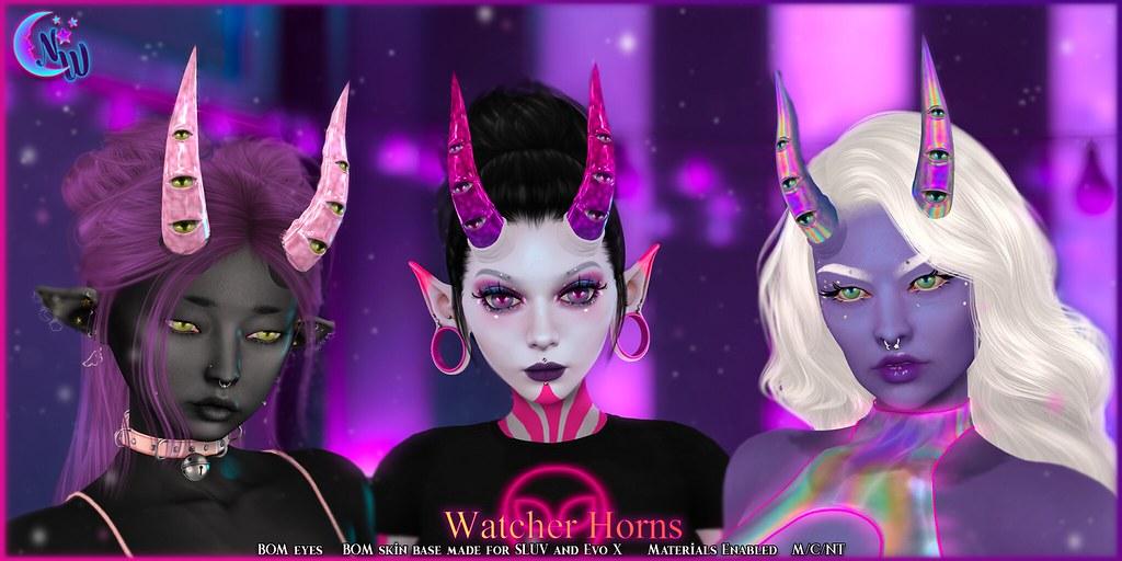 *NeverWish* Watcher Horns