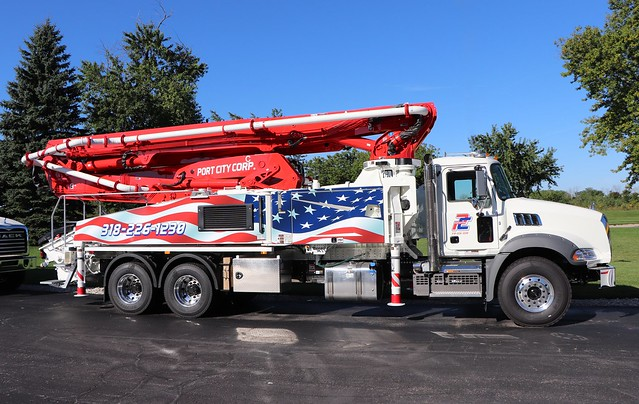 Port City Corp. Pumping Truck