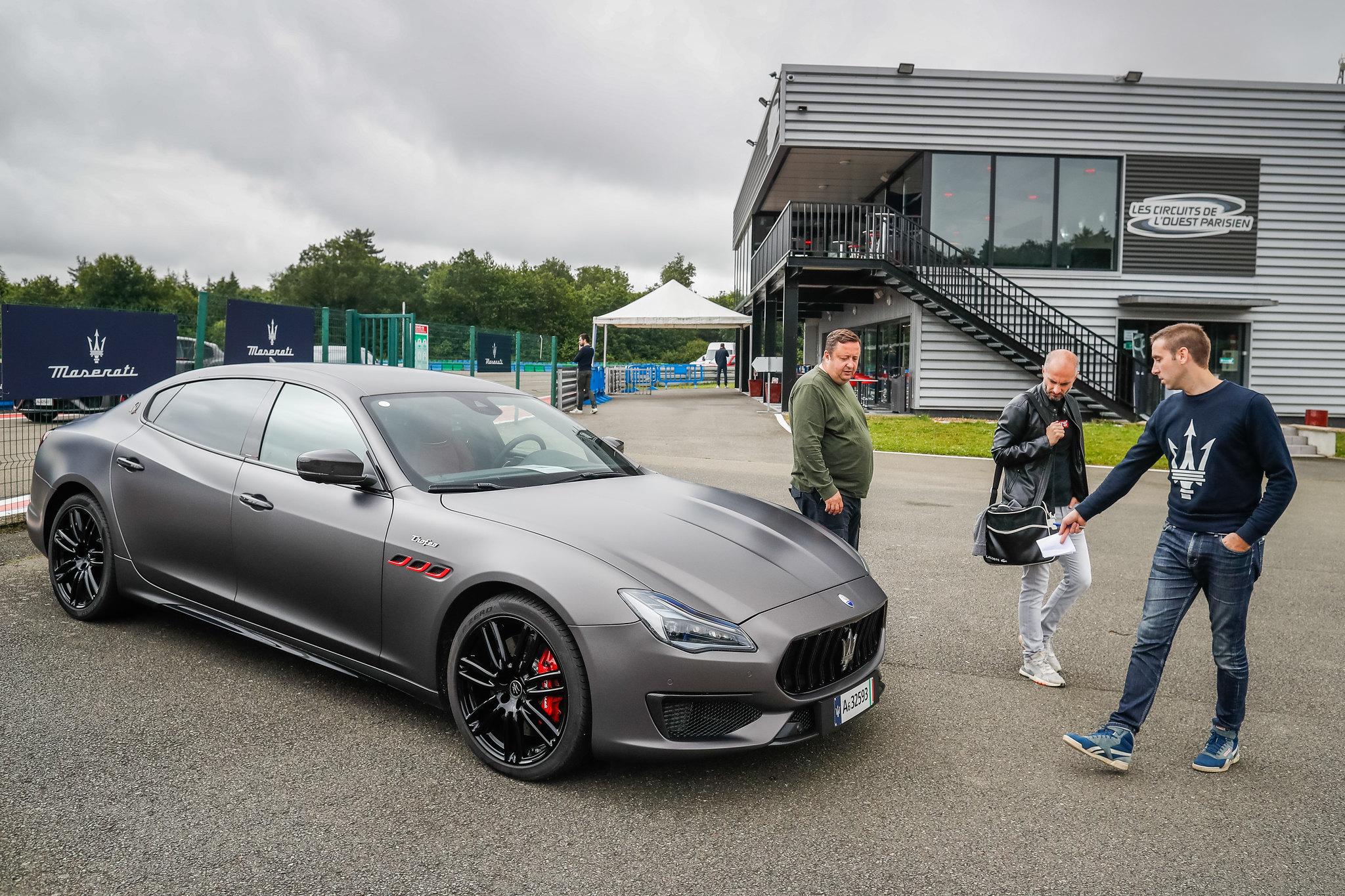 AUTO - TEST PRESSE MASERATI TROFEO 2021