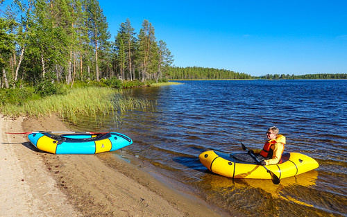 Sweden 2021-08-07: Packrafting Moskoselet