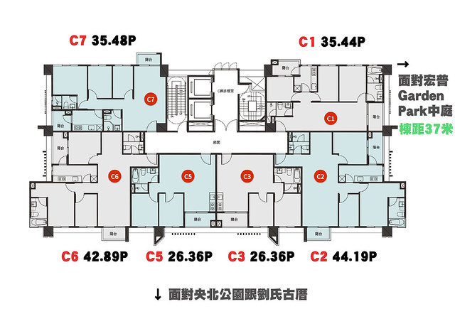 央泱長虹C1-4F