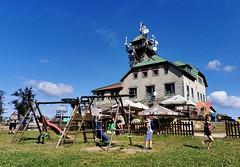 Dětské hřiště na vrcholu Tanvaldského Špičáku