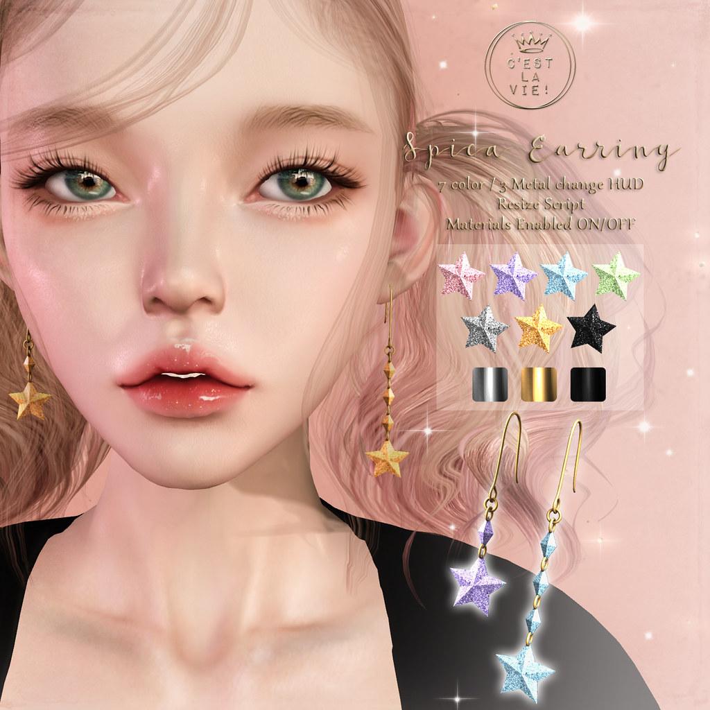 ::C'est la vie !:: Spica Earring Gift at The Warehouse Sale