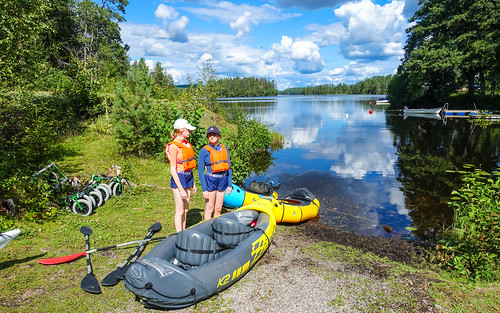 Sweden 2021-08-04: Packrafting Malingsbo-Kloten