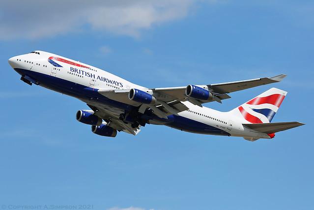 British Airways - G-CIVF - London Heathrow (LHR/EGLL)