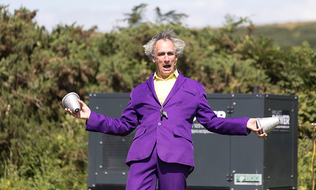 Purbeck Valley Folk Festival 2021 - Mr Wow  Passion 4 Laughter