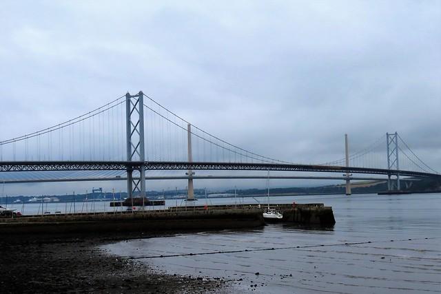 The Forth Road Bridges, Scotland