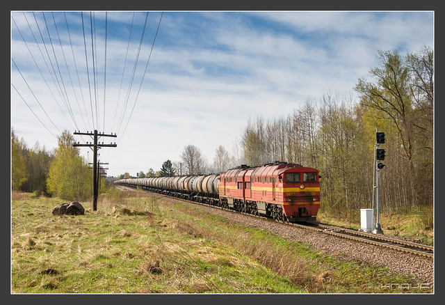 Eesti Raudtee 2TE116, 06.Mai 2010