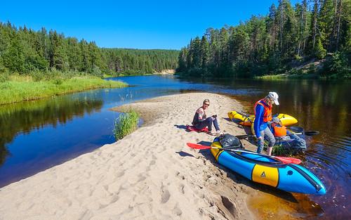 Finland 2021: Packrafting Lower Oulankajoki