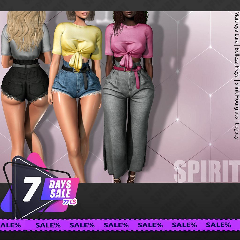 SPIRIT @7DaysSALE