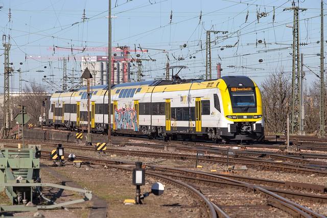 DB Regio 1462 503 Basel Badischer Bahnhof
