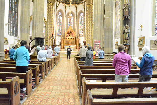 Relay to COP26 at St Chad's Cathedral