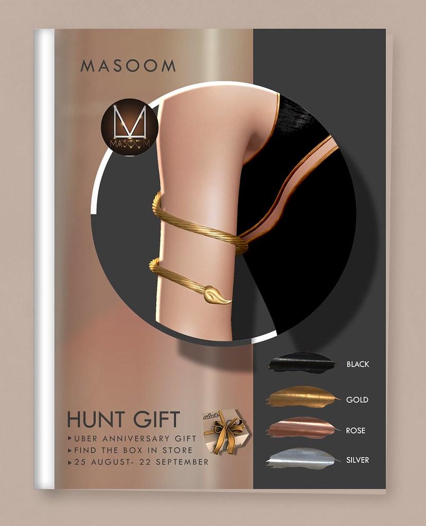 [[ Masoom ]] – Mystic Arm Hunt Gift