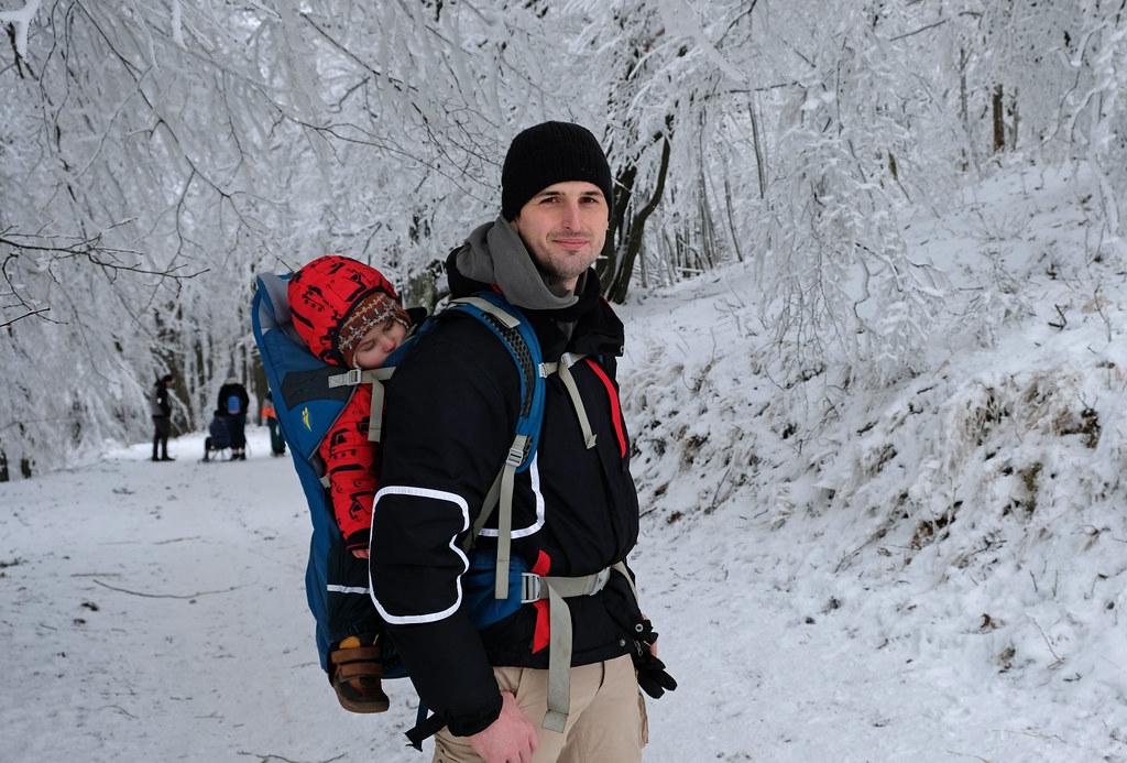 Börzsöny Mountains in winter, Hungary