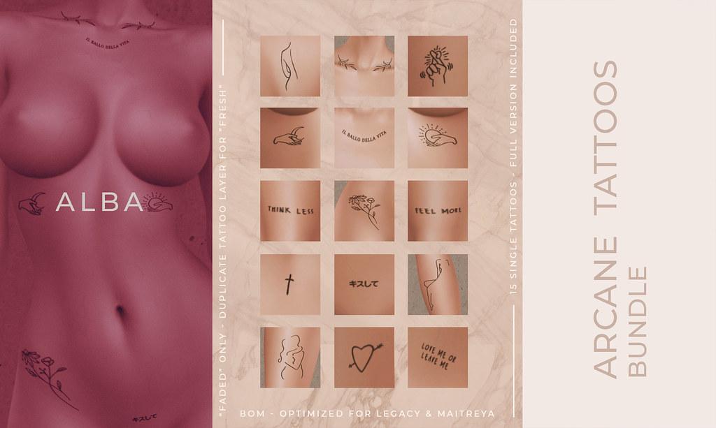 ALBA – Arcane Tattoos Bundle @ The Grand