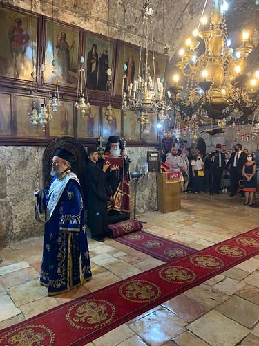 28 августа 2021 г. Праздник Успения Пресвятой Богородицы в Иерусалиме