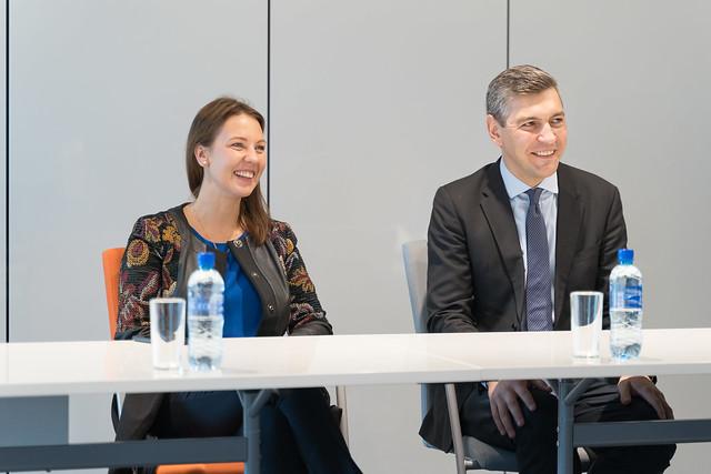 Izglītības un zinātnes ministre Anita Muižniece viesojas RTU
