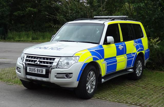 Bedfordshire Police - OU15 BXB