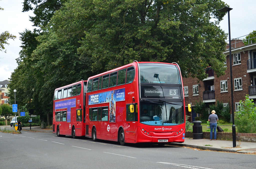 RATP Group   SN60BYC (ADH45008)   Edensor Road   Route E3, Greenford Broadway
