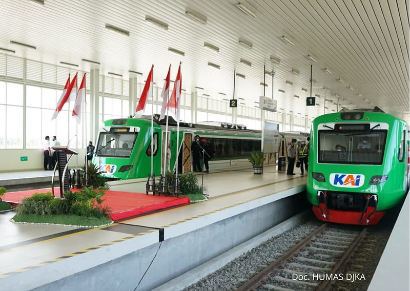 Soft Launching Pengoperasian KA Bandara YIA