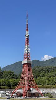 東武ワールドスクエア, 東京タワー