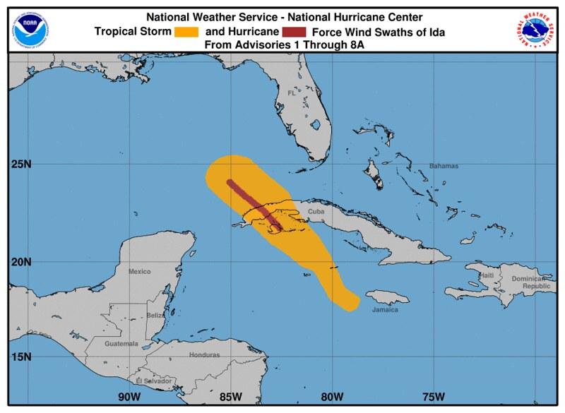 Hurricane Ida Wind Field - https://flic.kr/p/2mjKtUc